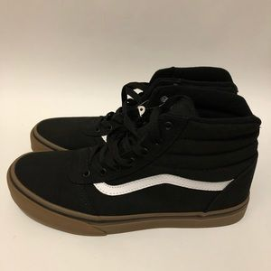 a1fc50f395502a Vans Shoes - Vans Ward Hi Size 6 Black Gum